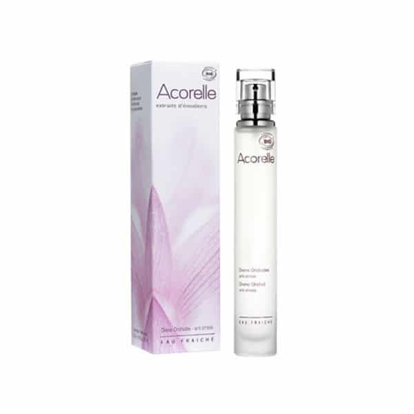 Acorelle - Eau Fraîche Divine Orchidée - Anti-Stress - 30 Ml - Soins Corps - Hygiène Et Bain