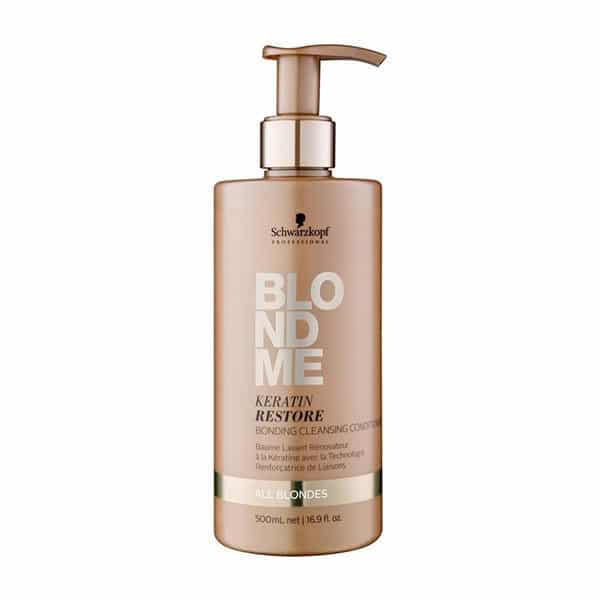 Schwarzkopf - Baume Lavant À La Kératine Blondme 500 Ml - Soins Pour Les Cheveux
