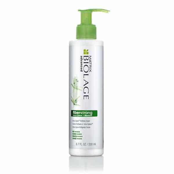 Biolage - Crème Sans Rincage Fiberstrong À L'Intra-Cylane - Soins Pour Les Cheveux