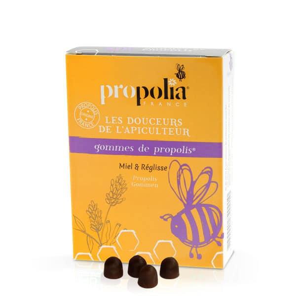 Propolia - Gommes Propolis-Réglisse
