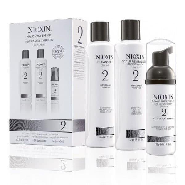 Nioxin - Kit 2 : Cheveux Fins