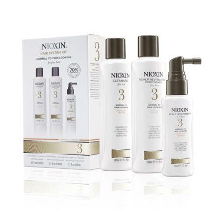 Nioxin - Kit 3 : Cheveux Fins