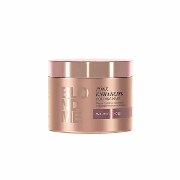 Schwarzkopf - Masque Éclat Blond Caramel Blondme 200 Ml - Soins Pour Les Cheveux