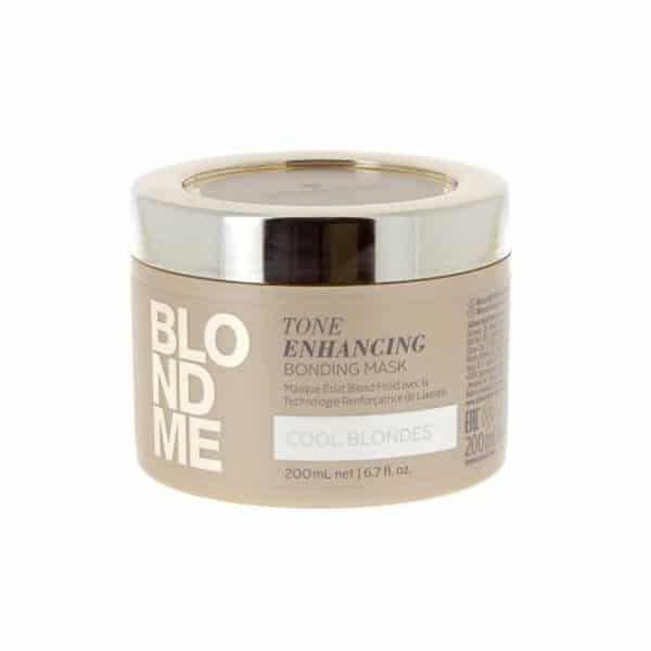 Schwarzkopf - Masque Éclat Blond Froid Blondme 200 Ml - Soins Pour Les Cheveux