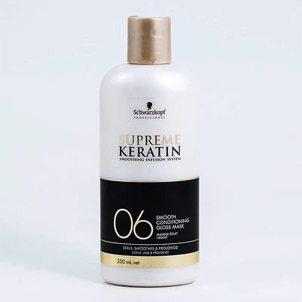 Schwarzkopf - Masque Eclat Lissant Supreme Keratin 06 - Soins Pour Les Cheveux