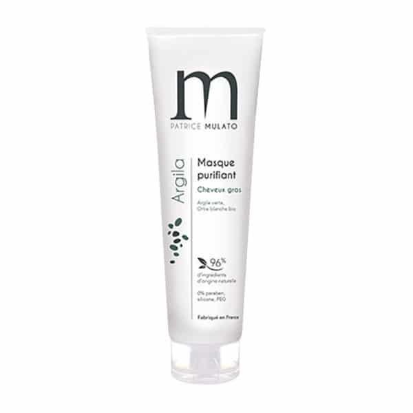 Mulato - Masque Purifiant Cheveux & Cuirs Chevelus Gras 150 Ml - Soins Pour Les Cheveux