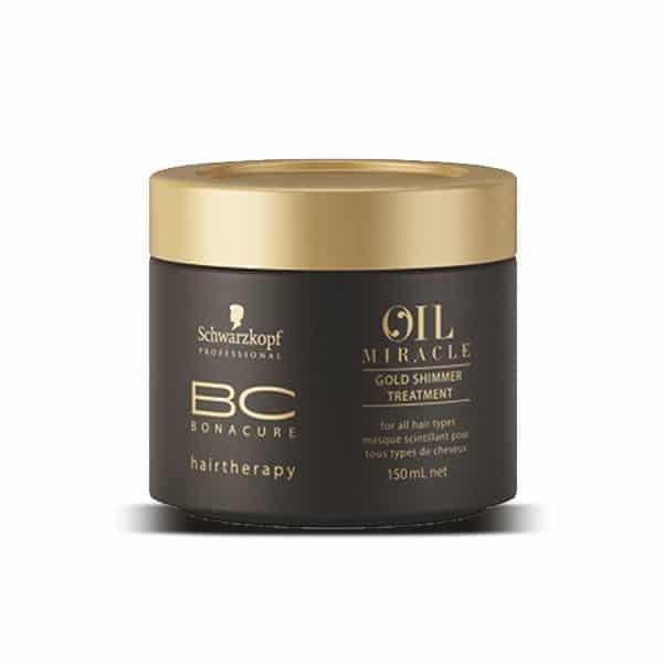 Schwarzkopf - Masque Scintillant Bc Oil Miracle Pour Cheveux Épais - Soins Pour Les Cheveux