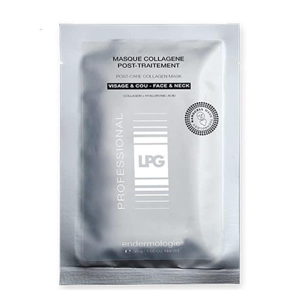 Lpg - Masques Collagène Post-Traitement - Soins Visage Anti-Age