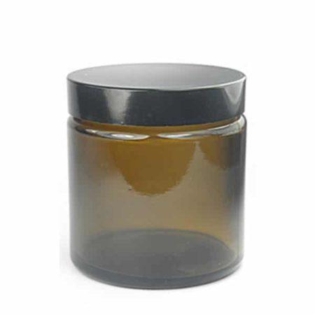 Sales Ampulla Flacon - Pot À Onguent Verre Ambré 120 Ml