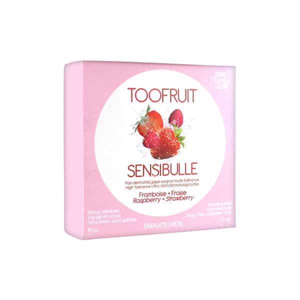 Toofruit - Sensibulle Pain Dermatologique Surgras Framboise Fraise - Enfants -