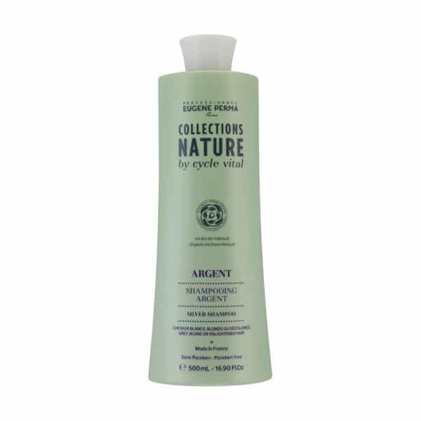 Eugene Perma - Shampooing Argent - Collections Nature - 500 Ml - Shampooings