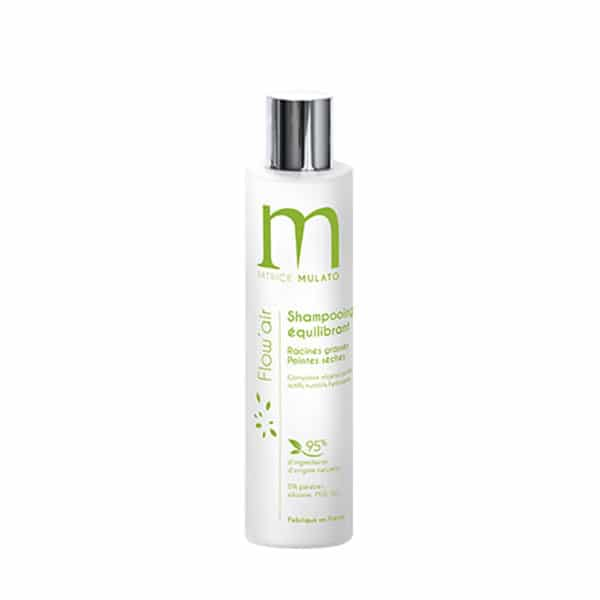 Mulato - Shampooing Équilibrant Racines Grasses Pointes Sèches 200 Ml - Shampooings