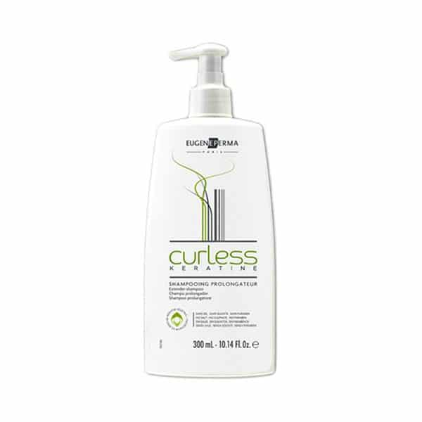 Eugene Perma - Shampooing Prolongateur Curless Keratine 300 Ml - Shampooings