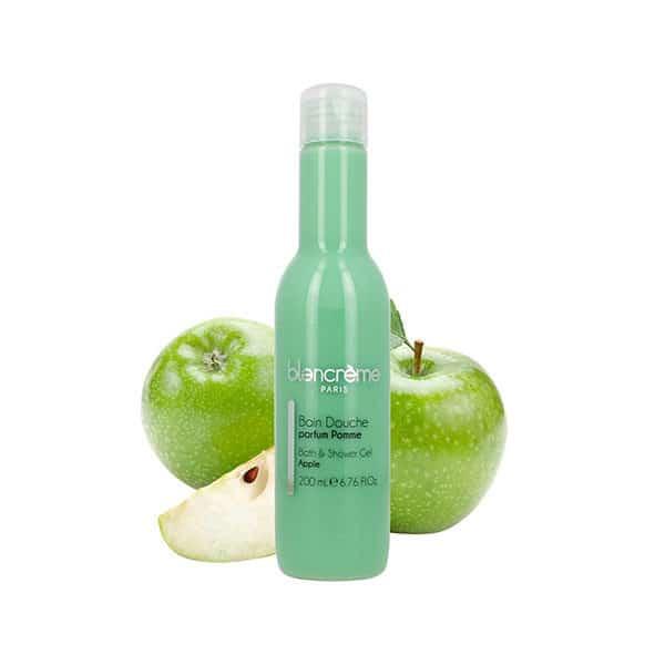 Blancrème - Soin Douche Pomme Verte - 200 Ml - Soins Corps - Hygiène Et Bain