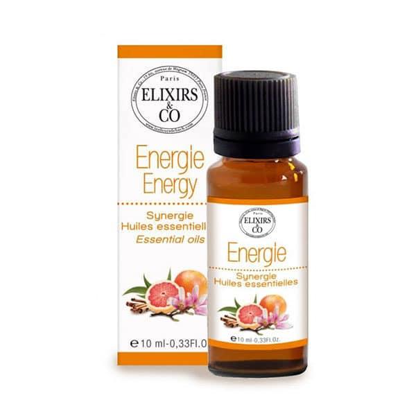 Les Fleurs De Bach - Synergie D'Huiles Essentielles Energie - Hydratant
