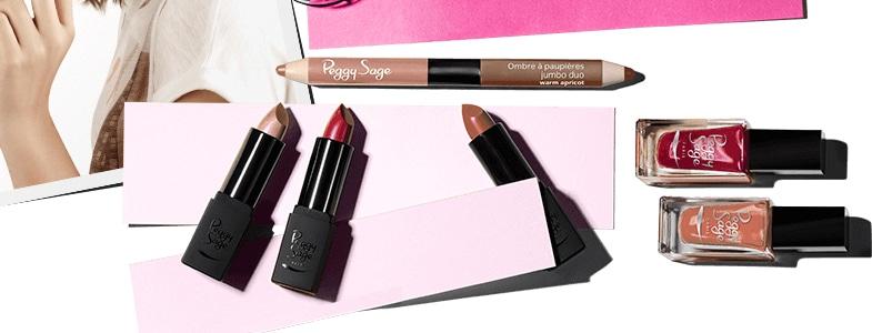 Peggy Sage - Une gamme de maquillage