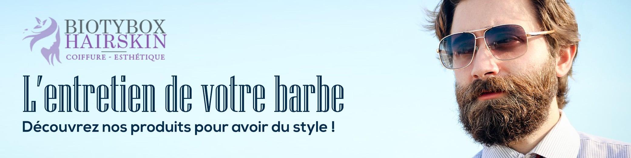 Entretien de la barbe, notre gamme de produits...